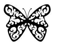 δερματοστιξία πεταλούδων Στοκ Εικόνες
