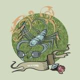 Δερματοστιξία Σκορπιού στοκ φωτογραφία με δικαίωμα ελεύθερης χρήσης