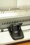 δεσμευτική μηχανή Στοκ Φωτογραφία