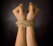 δεσμευτικό χέρι Στοκ φωτογραφίες με δικαίωμα ελεύθερης χρήσης