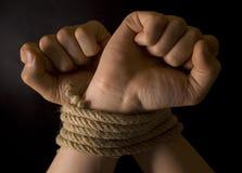 δεσμευτικό χέρι Στοκ εικόνα με δικαίωμα ελεύθερης χρήσης