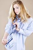 δεσμός πουκάμισων κοριτ&s Στοκ εικόνες με δικαίωμα ελεύθερης χρήσης