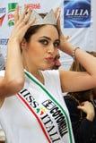 δεσποινίδα της Ιταλίας τ& Στοκ Εικόνες