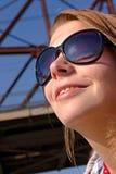 δεσποινίδα sunbather Στοκ φωτογραφία με δικαίωμα ελεύθερης χρήσης