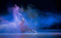 Δεσποινίς-σύγχρονος χορός Στοκ Φωτογραφία