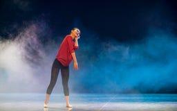 Δεσποινίς-σύγχρονος χορός Στοκ εικόνα με δικαίωμα ελεύθερης χρήσης