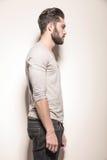 Δευτερεύον πορτρέτο Polaroid ενός νεαρού άνδρα στοκ φωτογραφίες με δικαίωμα ελεύθερης χρήσης
