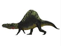 Δευτερεύον σχεδιάγραμμα Arizonasaurus διανυσματική απεικόνιση