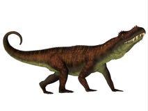 Δευτερεύον σχεδιάγραμμα Prestosuchus Στοκ φωτογραφία με δικαίωμα ελεύθερης χρήσης