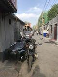 Δευτερεύουσα αλέα στην Κίνα στοκ φωτογραφία