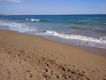 Δευτερεύουσα παραλία της Τουρκίας Antalya Manavgat Στοκ φωτογραφίες με δικαίωμα ελεύθερης χρήσης