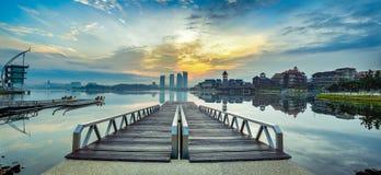 Δευτερεύουσες αντανακλάσεις λιμνών Στοκ εικόνα με δικαίωμα ελεύθερης χρήσης