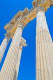 Δευτερεύουσες αρχαίες antalya/Τουρκία πόλεων Στοκ φωτογραφία με δικαίωμα ελεύθερης χρήσης