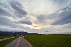 Δευτερεύων δρόμος στοκ εικόνες