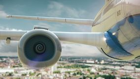 Δεύτερη έκδοση της Κολωνίας Γερμανία απογείωσης αεροπλάνων απόθεμα βίντεο