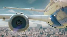 Δεύτερη έκδοση του Πεκίνου Κίνα απογείωσης αεροπλάνων απόθεμα βίντεο