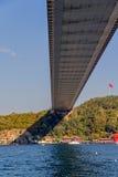 Δεύτερη γέφυρα της Ιστανμπούλ Στοκ φωτογραφίες με δικαίωμα ελεύθερης χρήσης