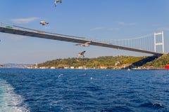 Δεύτερη γέφυρα της Ιστανμπούλ Στοκ Φωτογραφία