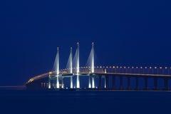 Δεύτερη γέφυρα Penang Στοκ φωτογραφία με δικαίωμα ελεύθερης χρήσης