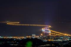 Δεύτερη γέφυρα Penang Στοκ Φωτογραφία