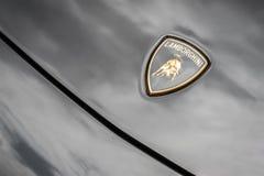 Δελτίο εξοργισμού Lamborghini Στοκ φωτογραφίες με δικαίωμα ελεύθερης χρήσης