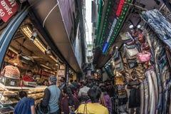 Δελχί, Ινδία - 27 Ιανουαρίου 2017: συνηθισμένη crowdy ζωή πόλεων σε Chandni Chowk, παλαιό Δελχί, διάσημος προορισμός ταξιδιού στη στοκ εικόνες με δικαίωμα ελεύθερης χρήσης