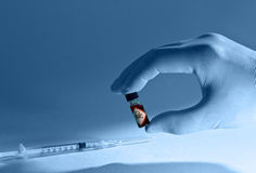 Δηλητήριο και έγχυση Στοκ φωτογραφία με δικαίωμα ελεύθερης χρήσης