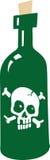 δηλητήριο μπουκαλιών ελεύθερη απεικόνιση δικαιώματος