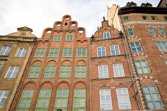 Δημαρχεία του Γντανσκ στοκ εικόνες