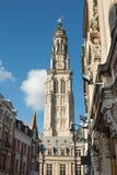 Δημαρχείο και καμπαναριό Arras Στοκ φωτογραφίες με δικαίωμα ελεύθερης χρήσης