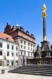 Δημαρχείο και στήλη πανούκλας, Plzen, Τσεχία Στοκ φωτογραφία με δικαίωμα ελεύθερης χρήσης