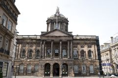 Δημαρχείο, οδός του Castle, Λίβερπουλ, UK στοκ φωτογραφίες με δικαίωμα ελεύθερης χρήσης