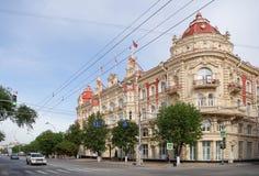 Δημαρχείο οικοδόμησης Δημοτικού Συμβουλίου - που χτίζεται το 1899 από το archi Στοκ Εικόνες