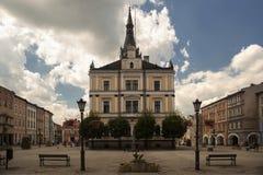 Δημαρχείο σε Ladek Zdroj, Πολωνία στοκ φωτογραφία με δικαίωμα ελεύθερης χρήσης