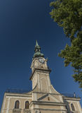 Δημαρχείο στην πόλη Kezmarok Σλοβακία Στοκ εικόνες με δικαίωμα ελεύθερης χρήσης
