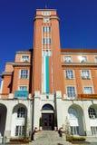 Δημαρχείο στο κέντρο της πόλης Pleven Στοκ εικόνες με δικαίωμα ελεύθερης χρήσης