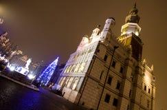 Δημαρχείο στο Πόζναν, Πολωνία στοκ εικόνα με δικαίωμα ελεύθερης χρήσης