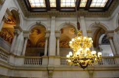 Δημαρχείο της Βαρκελώνης, Βαρκελώνη, Ισπανία Στοκ Φωτογραφία