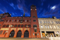 Δημαρχείο της Βασιλείας Στοκ φωτογραφία με δικαίωμα ελεύθερης χρήσης