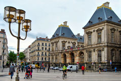 Δημαρχείο της Λυών, Γαλλία Στοκ Εικόνες