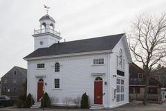 Δημαρχείο της Νέας Αγγλίας στη θάλασσα, κοντά σε Glouchester, Μασαχουσέτη, ΗΠΑ Στοκ Φωτογραφίες