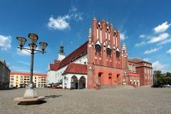Δημαρχείο της Φρανκφούρτης Oder, κράτος του Βραδεμβούργου, Γερμανία Στοκ Εικόνα