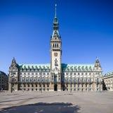 Δημαρχείο του Αμβούργο Στοκ Εικόνες