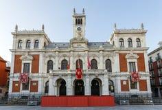 Δημαρχείο του Βαγιαδολίδ, Ισπανία στοκ φωτογραφία