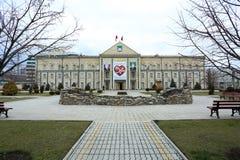 Δημαρχείο του Γκρόζνυ Στοκ εικόνες με δικαίωμα ελεύθερης χρήσης