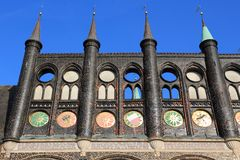 Δημαρχείο του Λούμπεκ Στοκ Φωτογραφία