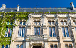 Δημαρχείο του Angouleme, ένα αρχαίο κάστρο - Γαλλία Στοκ εικόνα με δικαίωμα ελεύθερης χρήσης