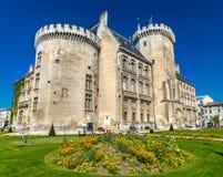 Δημαρχείο του Angouleme, ένα αρχαίο κάστρο - Γαλλία Στοκ Φωτογραφίες