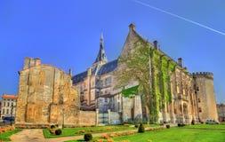 Δημαρχείο του Angouleme, ένα αρχαίο κάστρο - Γαλλία Στοκ Εικόνα
