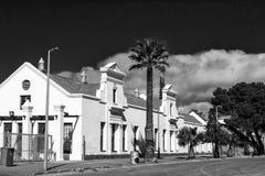 Δημαρχείο του Hoogland Munisipality σε Fraserburg μονοχρωματικός στοκ φωτογραφίες